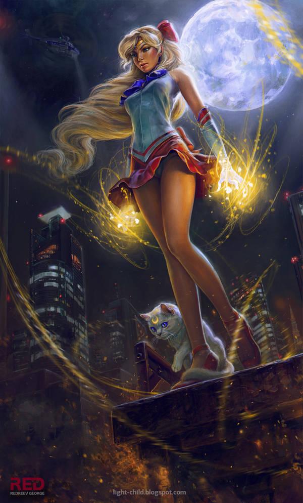 Sailor Venus by RedreevGeorge