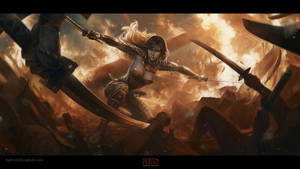 Battle in the temple of the sun, Amaterasu Guardia