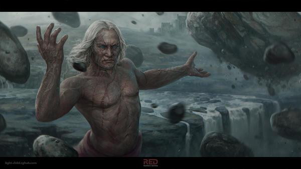 old wiz by RedreevGeorge