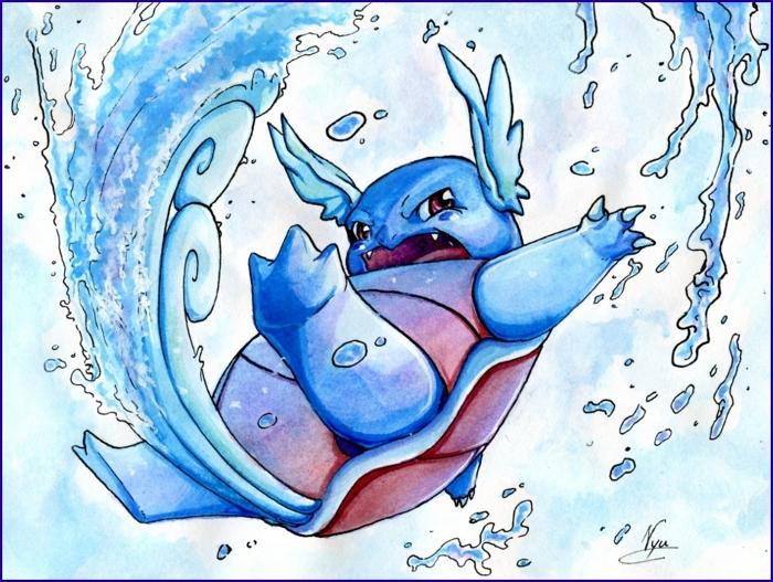 Aqua Tail | Pokémon moves | Pokémon Database