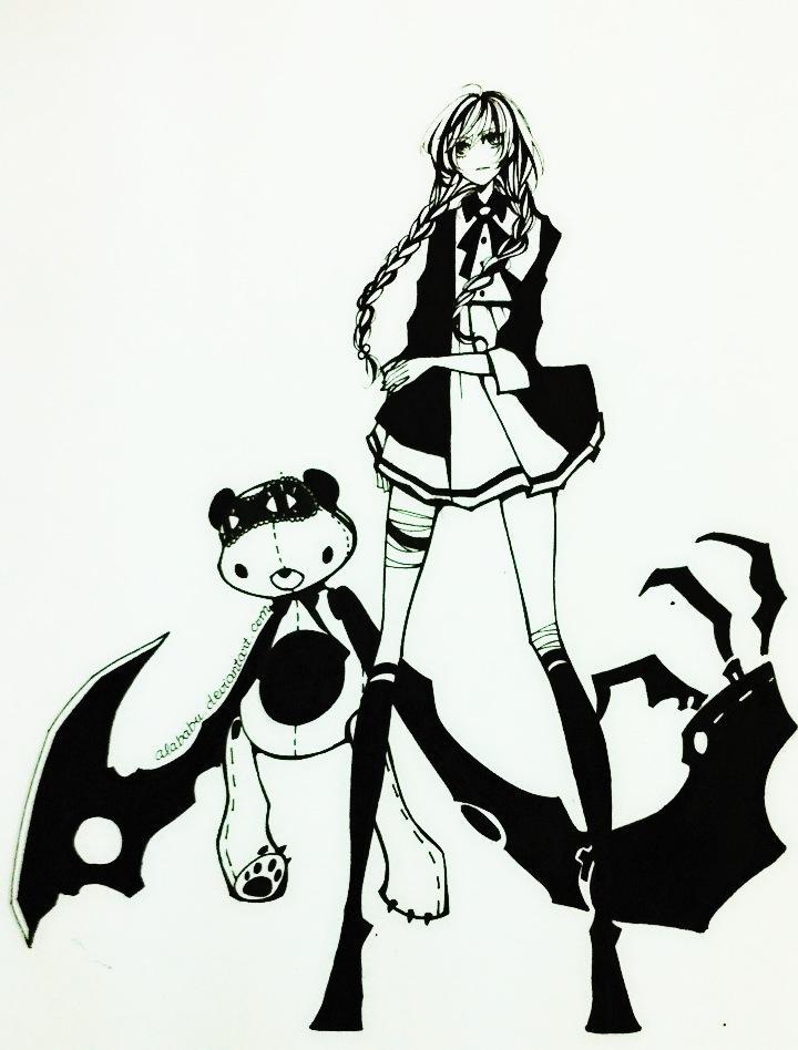 Poranki bear by Alababu