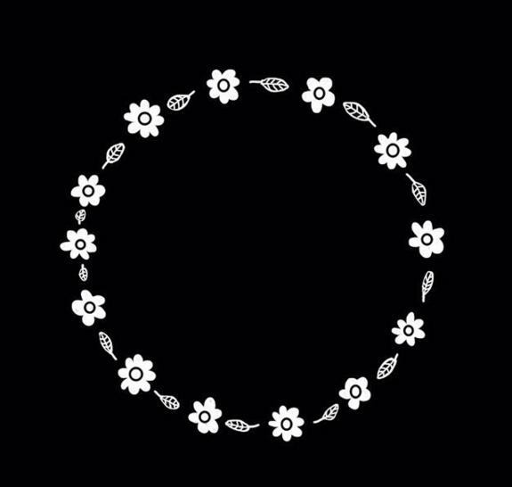 free daisy circle by cutiepiesenpai on deviantart