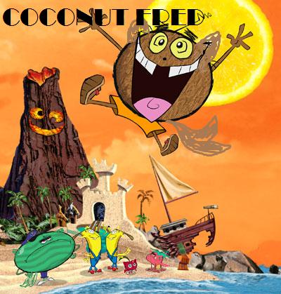 Coconut fred's cat island by AlexCrishDreemurr