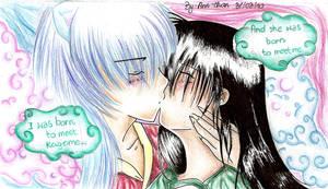 Finally kiss by SirMephisto666