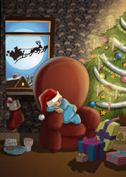 christmas eve by scoundreldaze