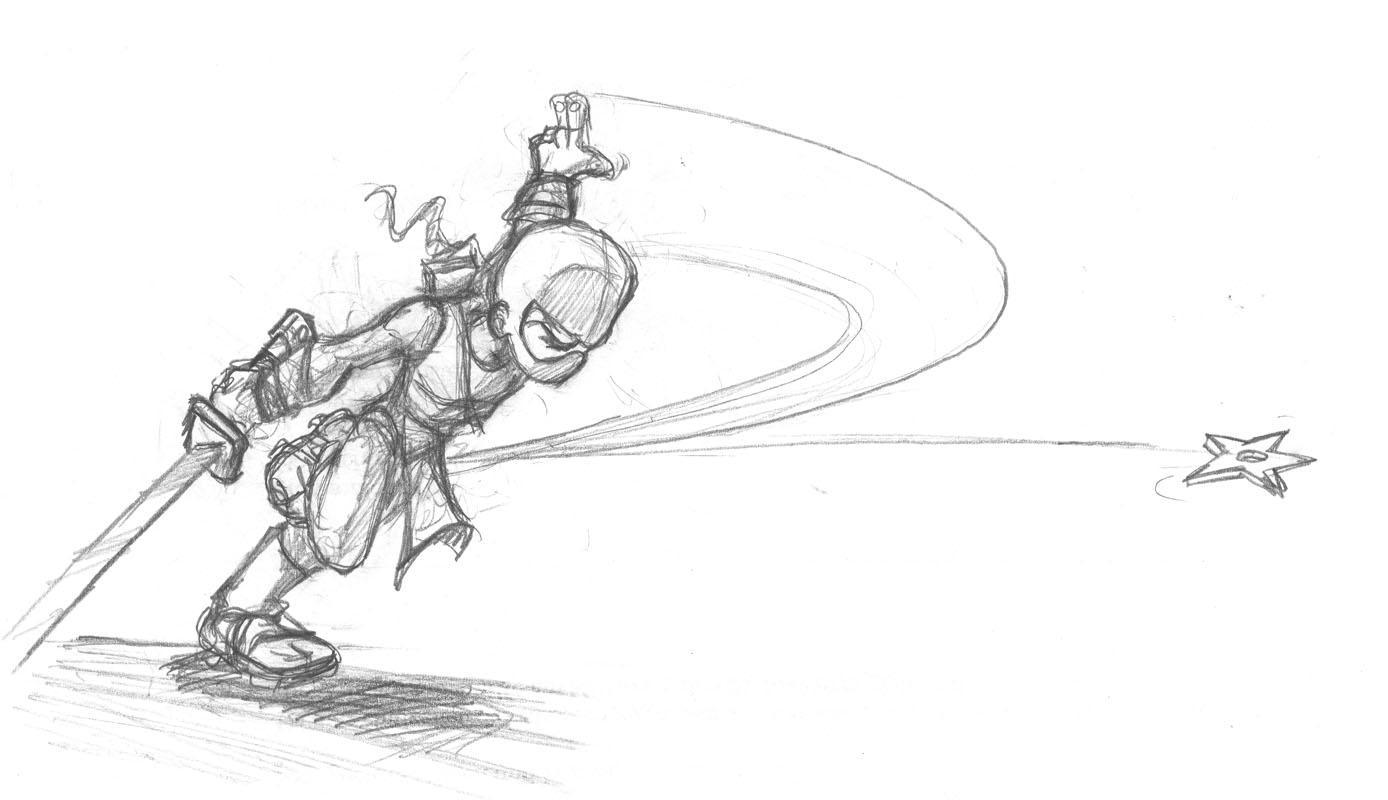 Ninja by scoundreldaze