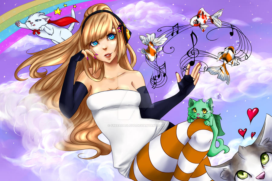 Fantasy Cloud by Freeasacloud