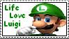 Luigi stamp -KisaShikaObsessed by Luigi-Fans-Unlimited