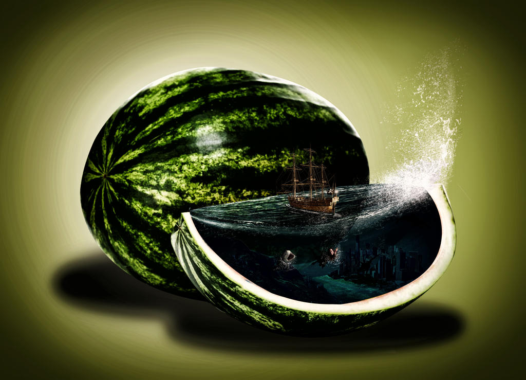 Watermelon by himans12345