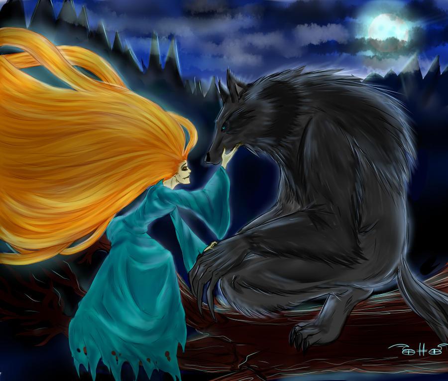 banshee and werewolf by Otto-Shnaider on DeviantArt