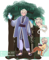 Astalone | Eiltilasith 'Jun' Dwin'aear by MaekoHikari