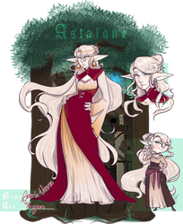 Astalone | Amaria Vonnes by MaekoHikari