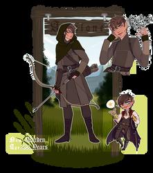 Astalone | Warden Valjyre by MaekoHikari