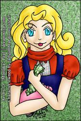 Commission -Dec09 - Cute Girl by mintaka