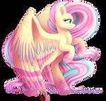 Rainbow Power Fluttershy