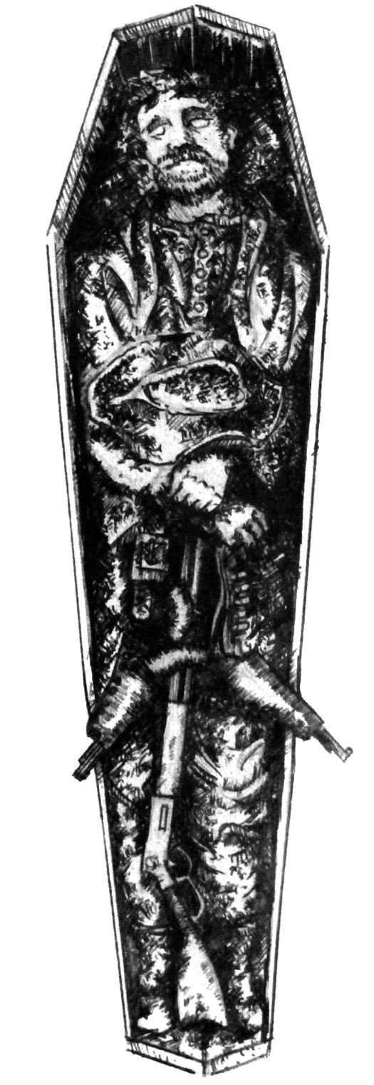 The Dead Gunslinger by TallTalesNTentacles
