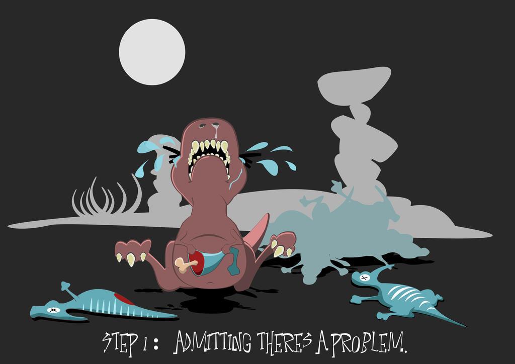 T Rex Tears by TallTalesNTentacles