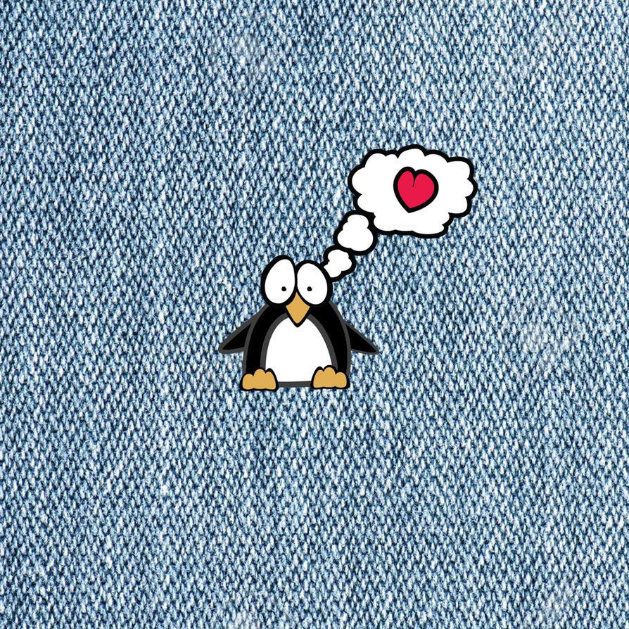 PenguinPin by TallTalesNTentacles