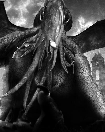 Cthulhu Rises. by TallTalesNTentacles