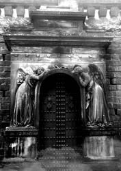 Cemetery Door by TallTalesNTentacles