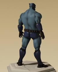 Blue Lynx 3D 03 by gryphyn7