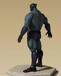 Blue Lynx 3D 04 by gryphyn7