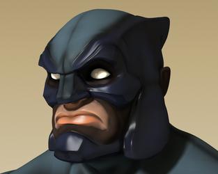 Blue Lynx 3D Face 01 by gryphyn7