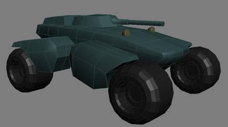 Panther Tank WIP 01