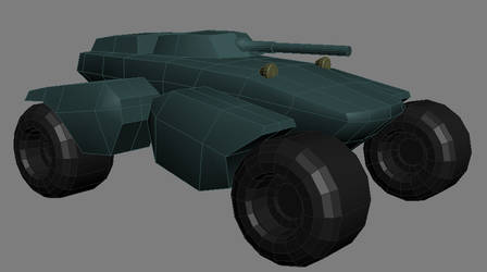 Panther Tank WIP 01 by gryphyn7