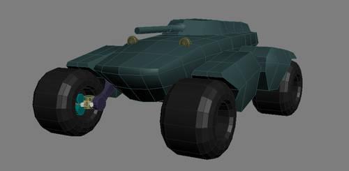 Panther Tank WIP 02