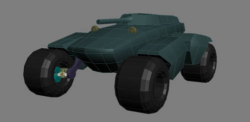 Panther Tank WIP 02 by gryphyn7