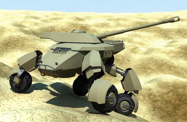 X-Tank by gryphyn7