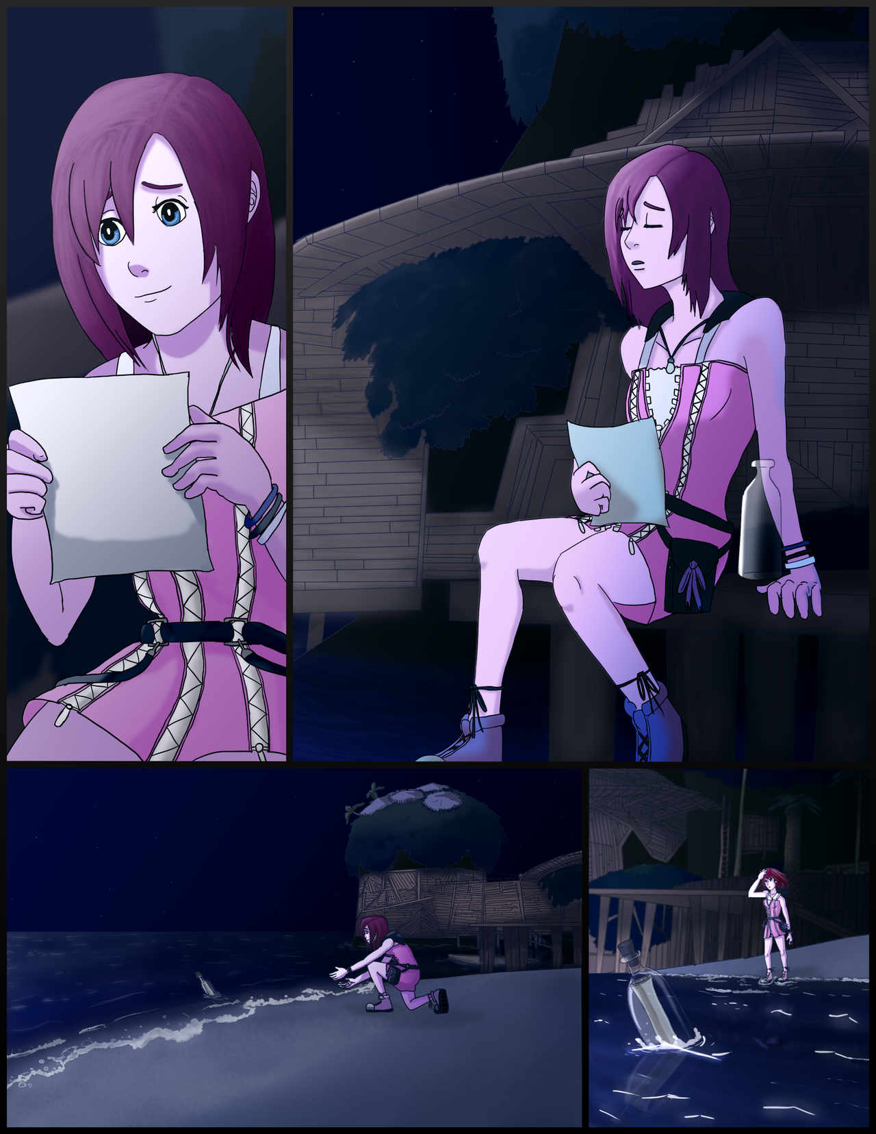 Kingdom Hearts - I'm Always With You Too PAGE 1/5 by branden9654