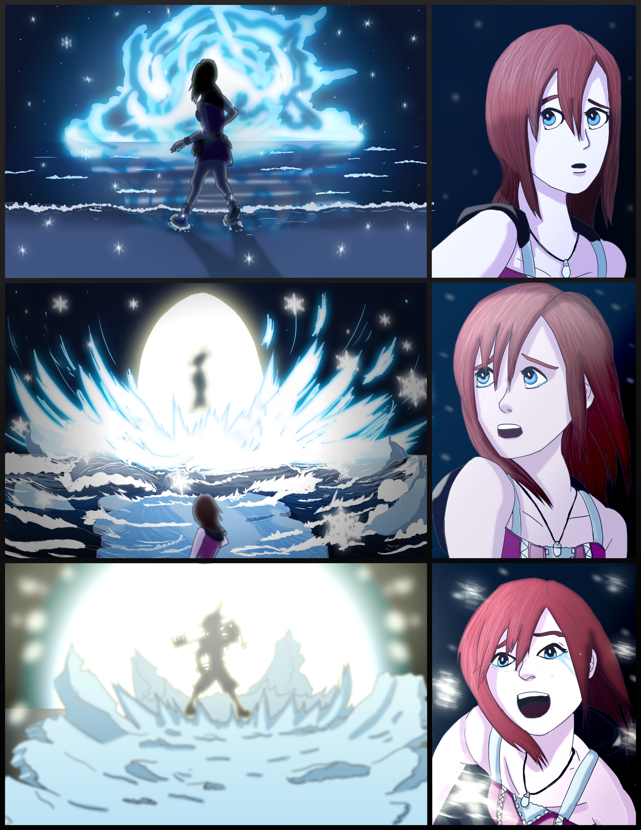 Kingdom Hearts - I'm Always With You Too PAGE 3/5 by branden9654