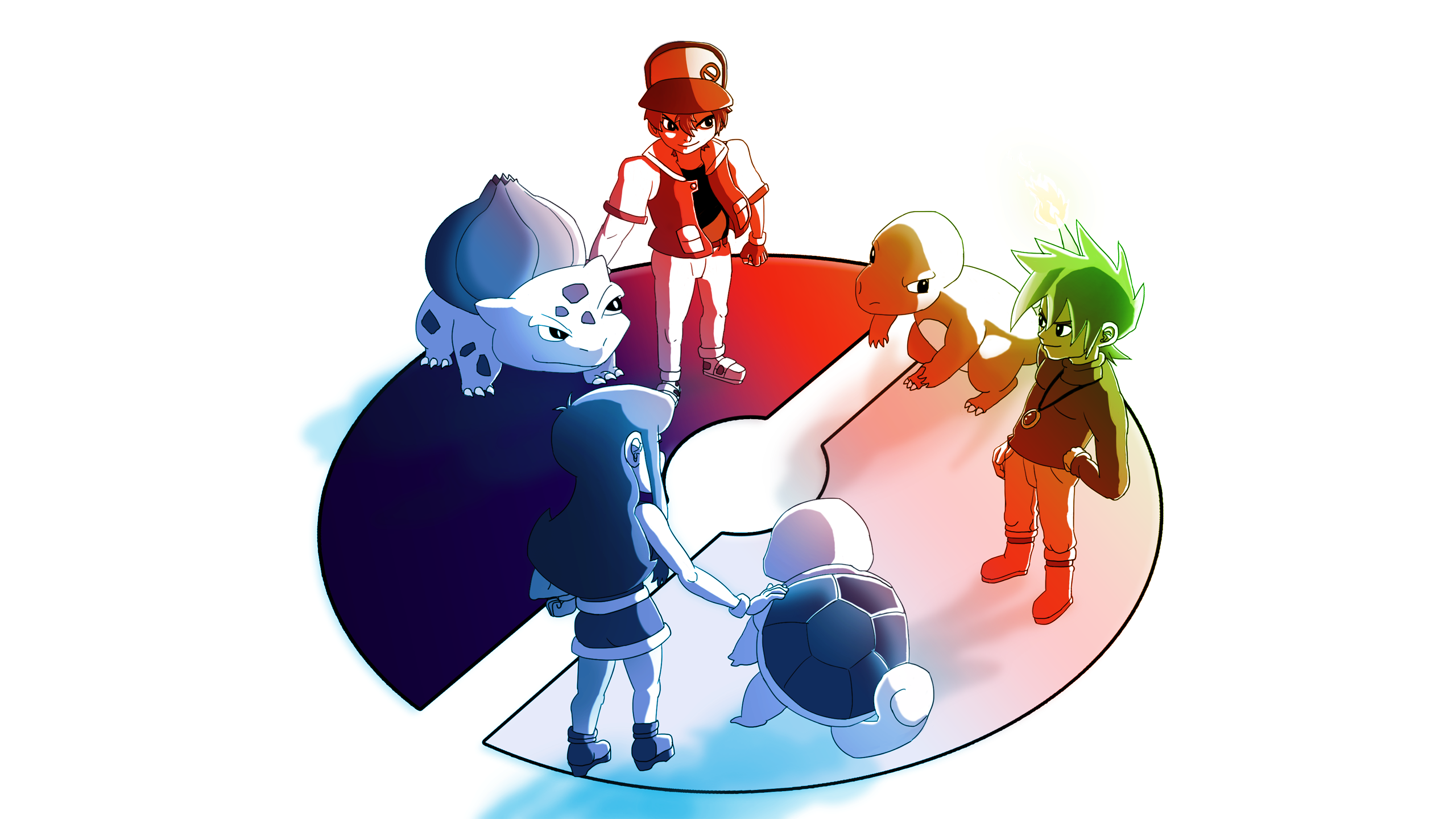 Pokemon Kanto Wallpaper by branden9654 on DeviantArt