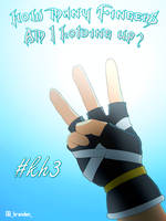 Kingdom Hearts 3 - How Many Fingers? by branden9654