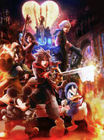 Kingdom Hearts III Face My Fears by branden9654