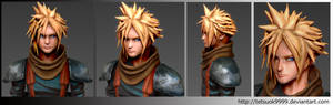ZBrush in Cloud Strife(Paint)