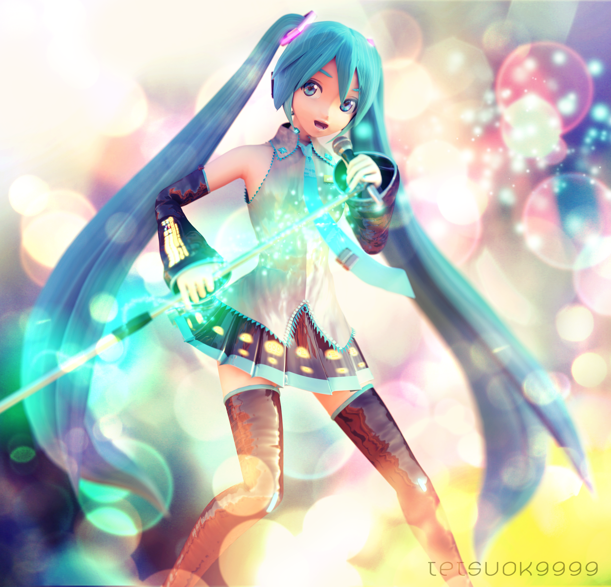 Project Diva Miku by tetsuok9999
