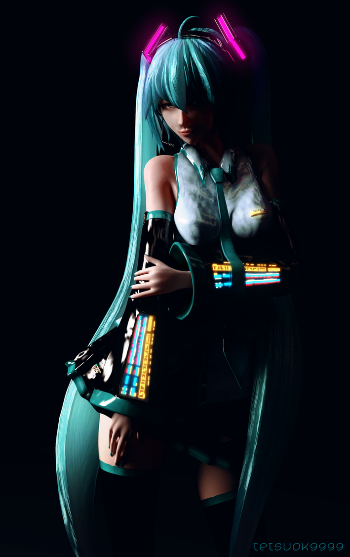 Pulse Miku by tetsuok9999