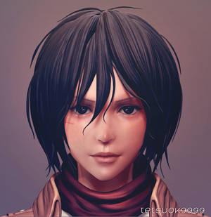 Mikasa Ackerman(wip5)