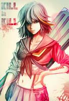 Ryuko Matoi- Kill La Kill by tetsuok9999