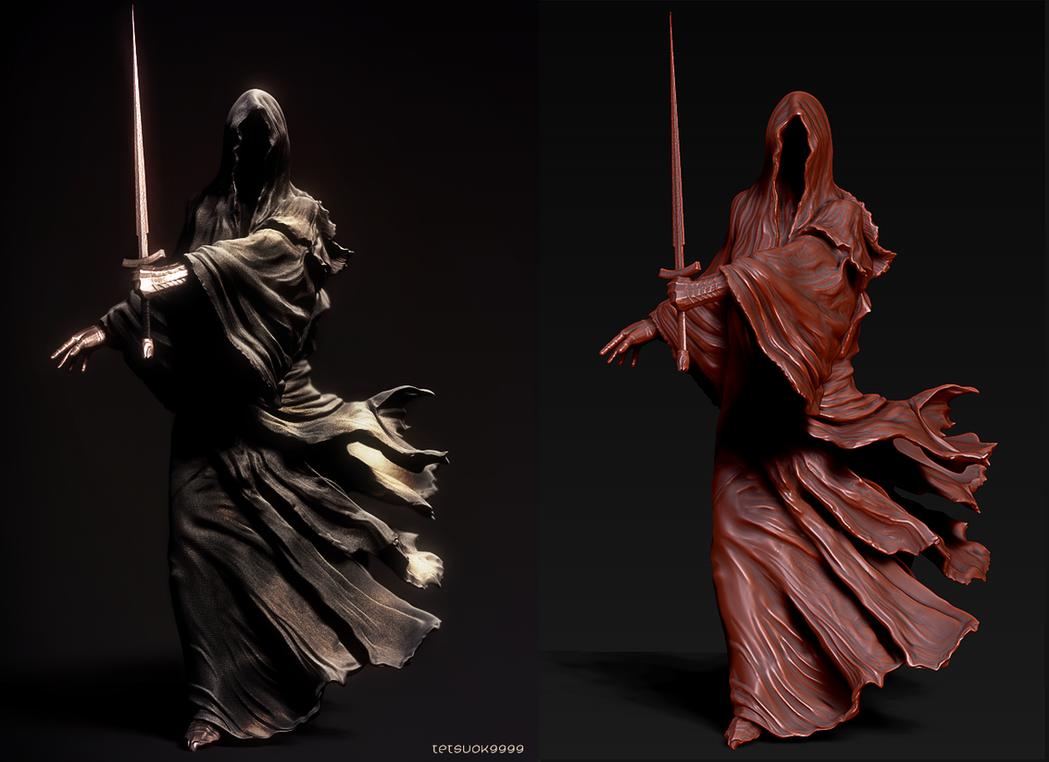Speed Sculpt (Ringwraith) by tetsuok9999