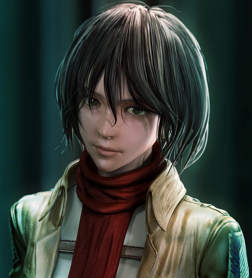 Mikasa Ackerman 2 by tetsuok9999