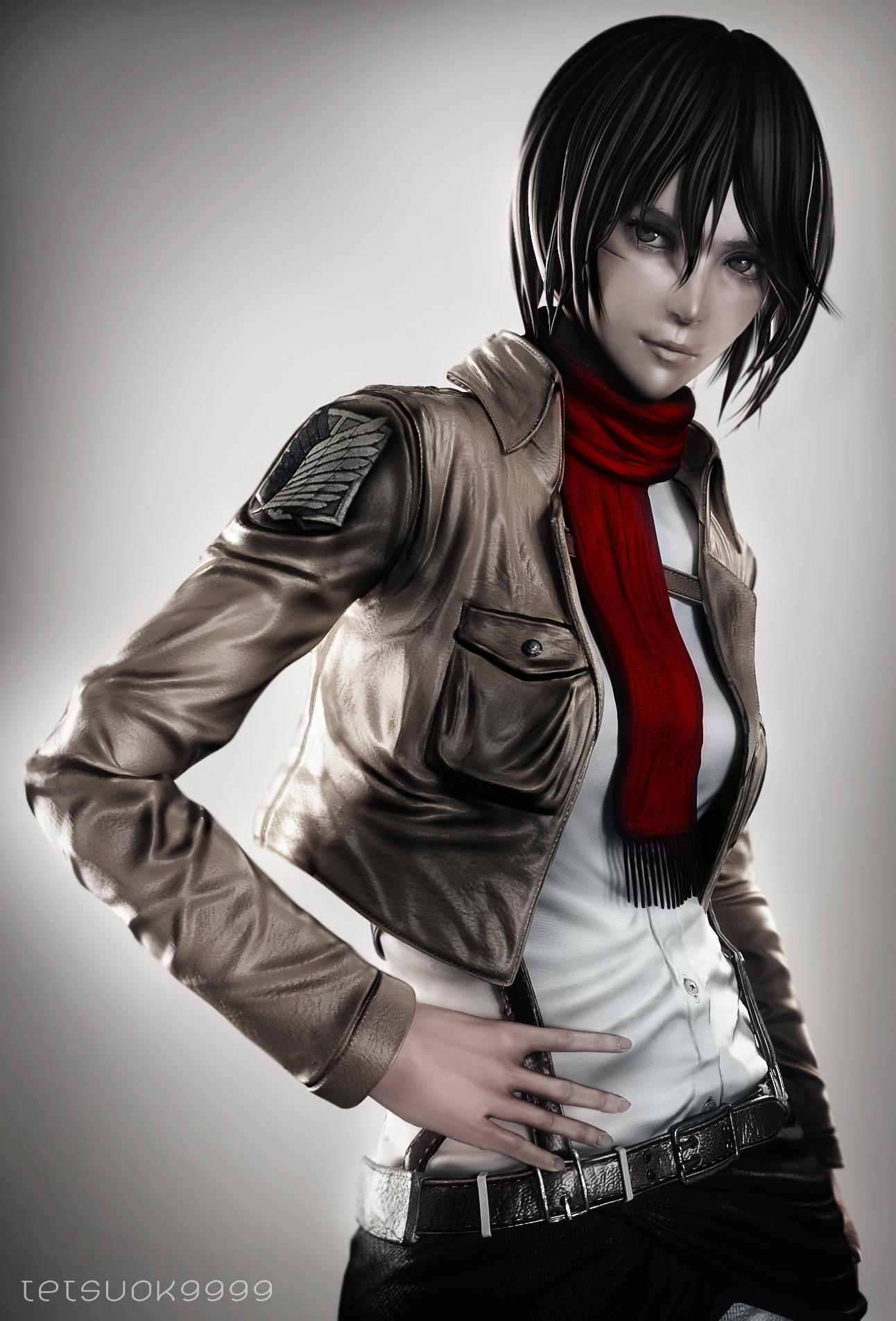 Mikasa Ackerman 3 by tetsuok9999