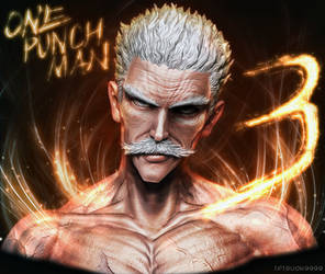 OnePunch-Man Silver Fang by tetsuok9999