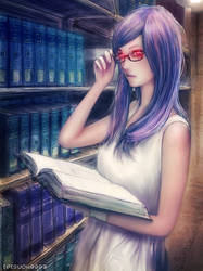 Tokyo Ghoul- Rize