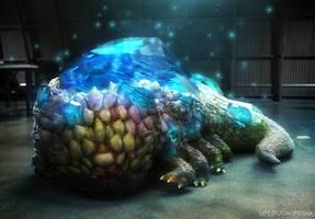Dark Souls - Crystal Lizard