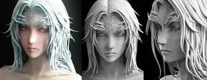Dark Souls - Crossbreed Priscilla(wip2)