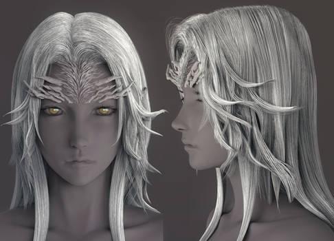 Dark Souls - Crossbreed Priscilla(wip3)